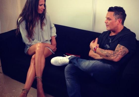 Entrevistando al grande entre los grandes... Alejandro Sanz