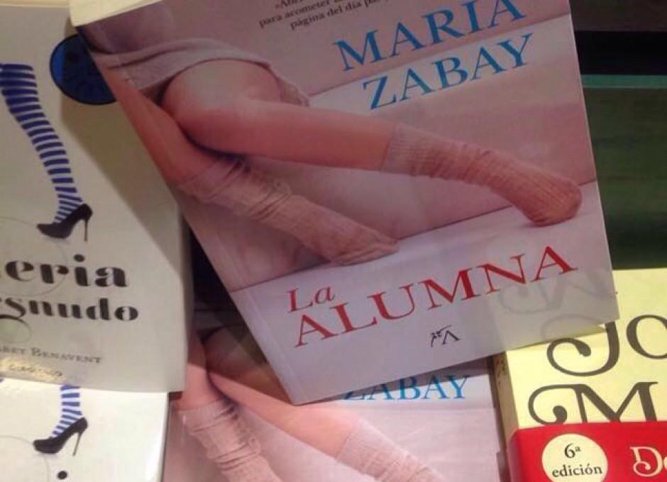 La Alumna entre los best seller de la Casa del Libro